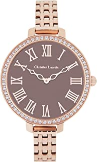 Christian lacroix Womens Analog Quartz Watch with Stainless Steel bracelet CLWE36