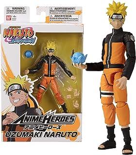 Bandai - Anime Heroes - Naruto Shippuden - Figurine Anime heroes 17 cm - Naruto Uzumaki