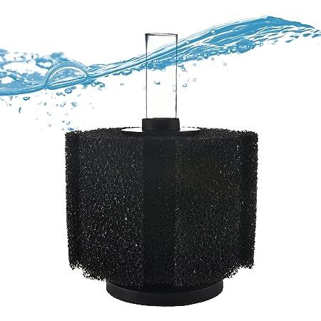 Premium Course Aquarium Sponge Filter - For Greater Intervals Between Cleaning! - Fits 10-75 Gallon Tanks - Fish Tank Sponge Filter - Compare To ATI Pro or Aquarium Co-Op Filter