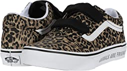 (Animal Checkerboard) Leopard/Black