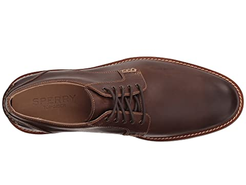 Sperry BrownTan Plain Annapolis Toe Suede FwFrUHq