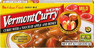 House Foods Vermont Curry, Mild, 8.1-Ounce Boxes (Pack of 10)