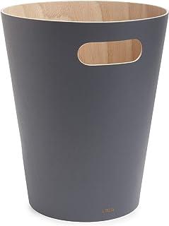 Umbra Woodrow CAN Natural/Charcoal, Wood Gra