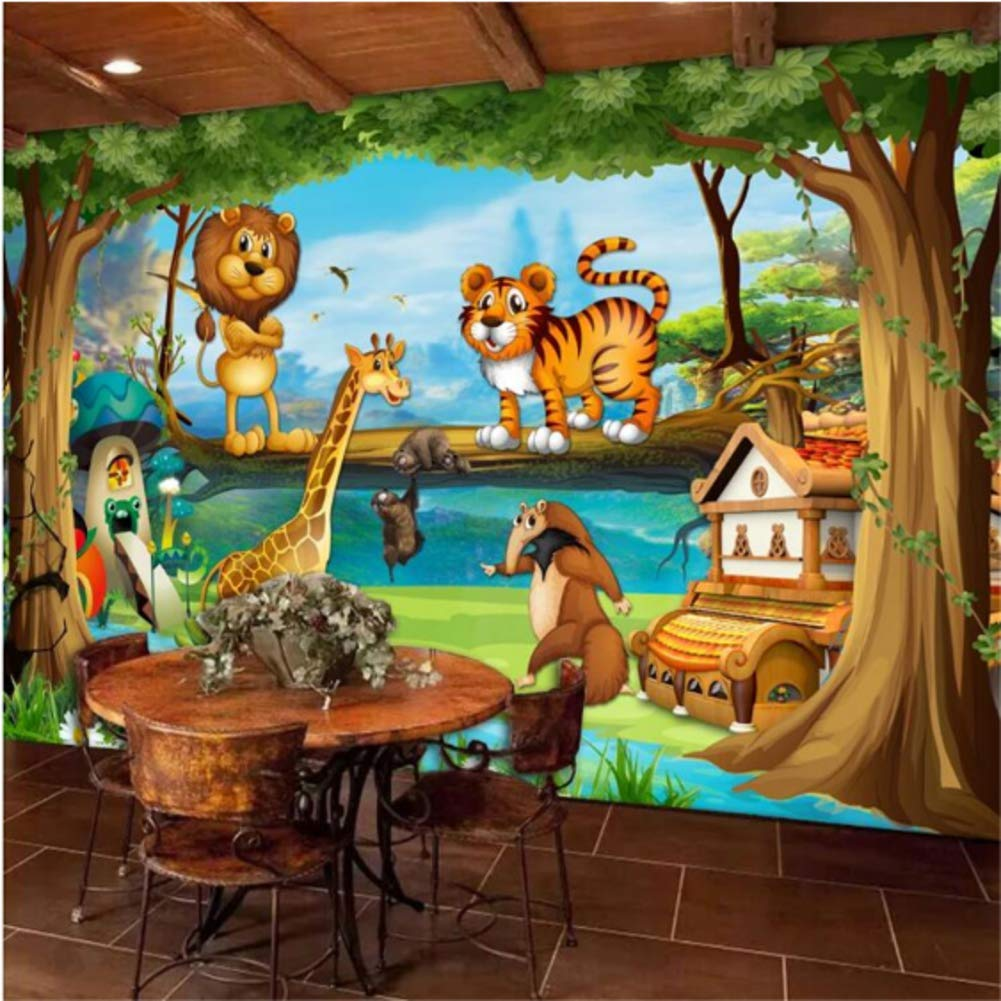 Iusasdz Beautiful Cartoon Room 55% OFF Children's Special price for a limited time Forest