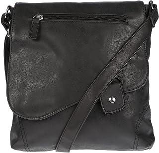 Christian Wippermann große Damen Umhängetasche Tasche Schultertasche in Leder Optik