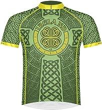 Primal Wear Ireland Celtic Knot Cycling Jersey Men's Short Sleeve Irish Green