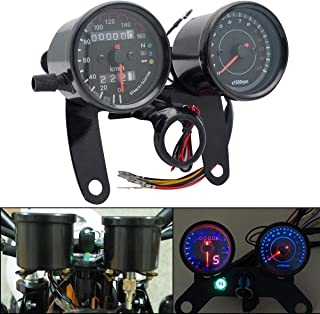 2 magnete per contachilometri tachimetro contachilometri contagiri per moto dirt bike scooter ATV Cavo sensore contachilometri digitale ATV