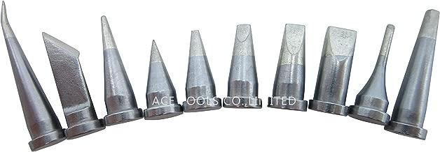 China BrandAiCE Tls Weller ST Ersatz-L/ötspitzen ST1//2//3//4//5//6//7//8//9//10 f/ür Weller SP40L SP40N WP25 WP30 WP35 WLC100 L/ötkolbengriffspitze