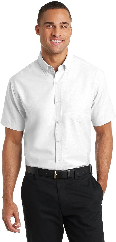 Port Authority Short Sleeve SuperPro Oxford Shirt. S659