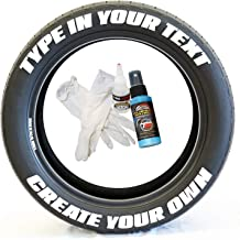 permanent tyre lettering