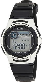 Casio Mens Digital Watch, Digital Display and Resin Strap