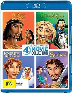 Dreamworks 4 Film Collection (The Prince of Egypt/Road to El Dorado/Joseph King of Dreams/Sinbad Legend of the Seven Seas)