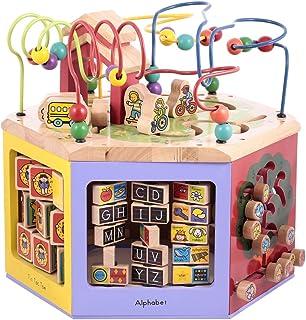 لعبة المحطة الخشبية متعددة الاستخدامات بتصميم سلايدر من كانو - CT181216RJ69