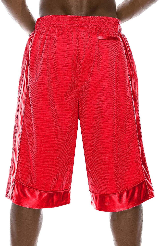 NE PEOPLE Mens Solid Comfy Regular Fit Plain Mesh/Heavy Mesh Basketball Gym Shorts Short Pants S-7XL