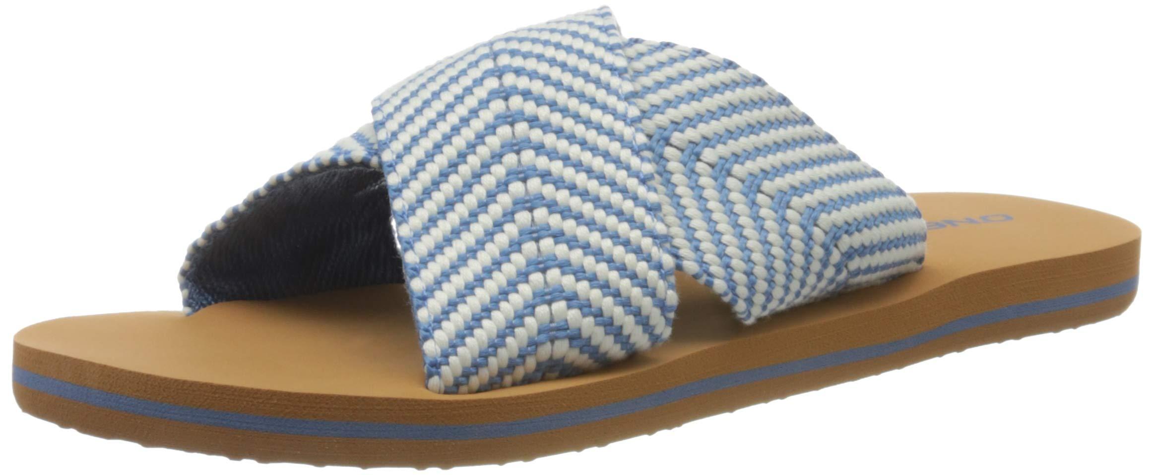O'Neill Damen Fw Ditsy Slide Sandalen Zehentrenner, Blau (Walton Blue 5209), 36