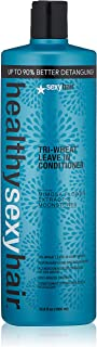 SEXYHAIR Healthy Tri-Wheat Leave In Conditioner 33.8 Fl Oz