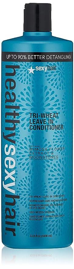 原始的な正当化する背が高いセクシーヘアコンセプト Healthy Sexy Hair Tri-Wheat Leave In Conditioner 1000ml/33.8oz並行輸入品