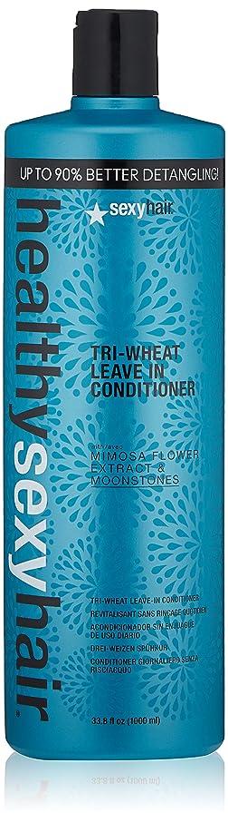 支援実行可能タクシーセクシーヘアコンセプト Healthy Sexy Hair Tri-Wheat Leave In Conditioner 1000ml/33.8oz並行輸入品