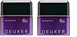 DEUXER(デューサー) アクアジェルワックス6G(2個セット) ヘアワックス フローラルベリー