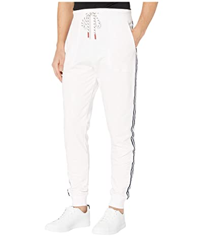 Psycho Bunny Crestfield Sweatpants (White) Men