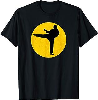 Costume de karaté vintage rétro dojo garçons filles hommes T-Shirt