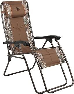 Timber Ridge Baobab Zero Gravity Lounger Patio Recliner Chair, Camouflage