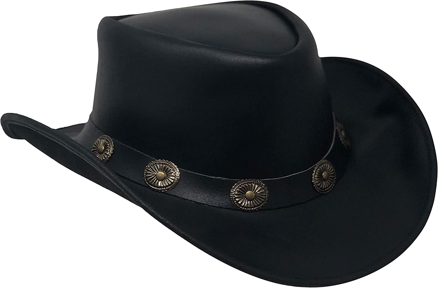Daily bargain sale Direct sale of manufacturer CHAPEAU TRIBE Shapeable Leather Hat Cowboy Western