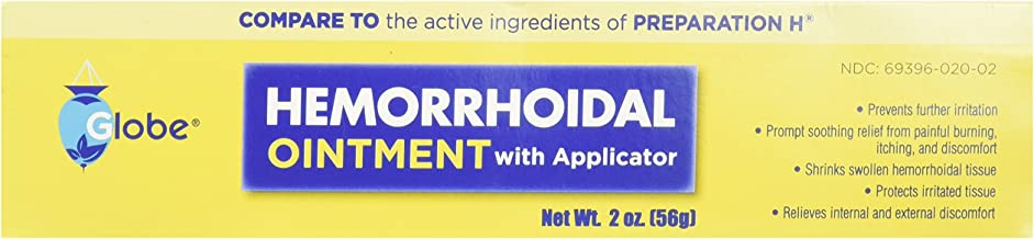 Hemorrhoidal Pain Relief Ointment (2 OZ Tube)