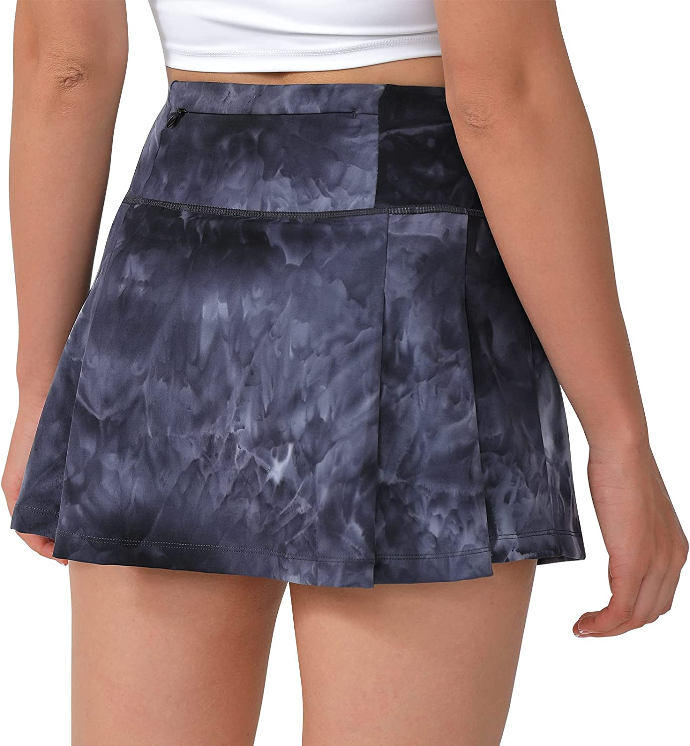 Eleloveph Women's 13in Pleated 2021 model Tennis Soft Luxury Skirt Max 40% OFF Fabric