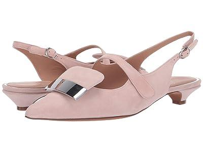 LINEA Paolo Capri Kitten Heel (Blush Suede) Women