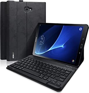 BAIBAO Keyboard Case for Samsung Galaxy Tab A 10.1 Inch SM-T580/T585/T587(NO S Pen Version), Slim Shell Lightweight Stand Cover with Magnetically Detachable Wireless Bluetooth Keyboard