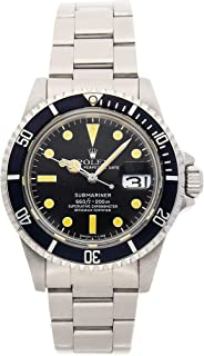 Rolex Submariner Mechanical (Automatic) Black Dial Mens Watch 1680 (Certified Pre-Owned)