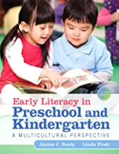 Early Literacy in Preschool and Kindergarten: A Multicultural Perspective
