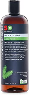 Saba Organics Organic Bath & Tile Gel - Alpine Forest, 500 milliliters