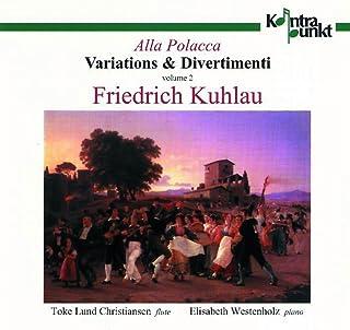 Kuhlau: Variations & Divertimenti, Volume 2