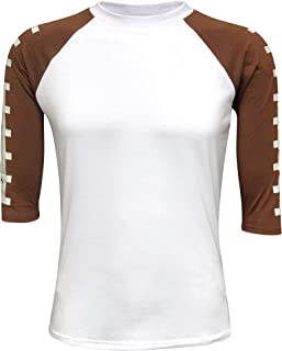 Football Raglan Adult & Kids Sports T-Shirt Athletic Unisex Team Cheer Active