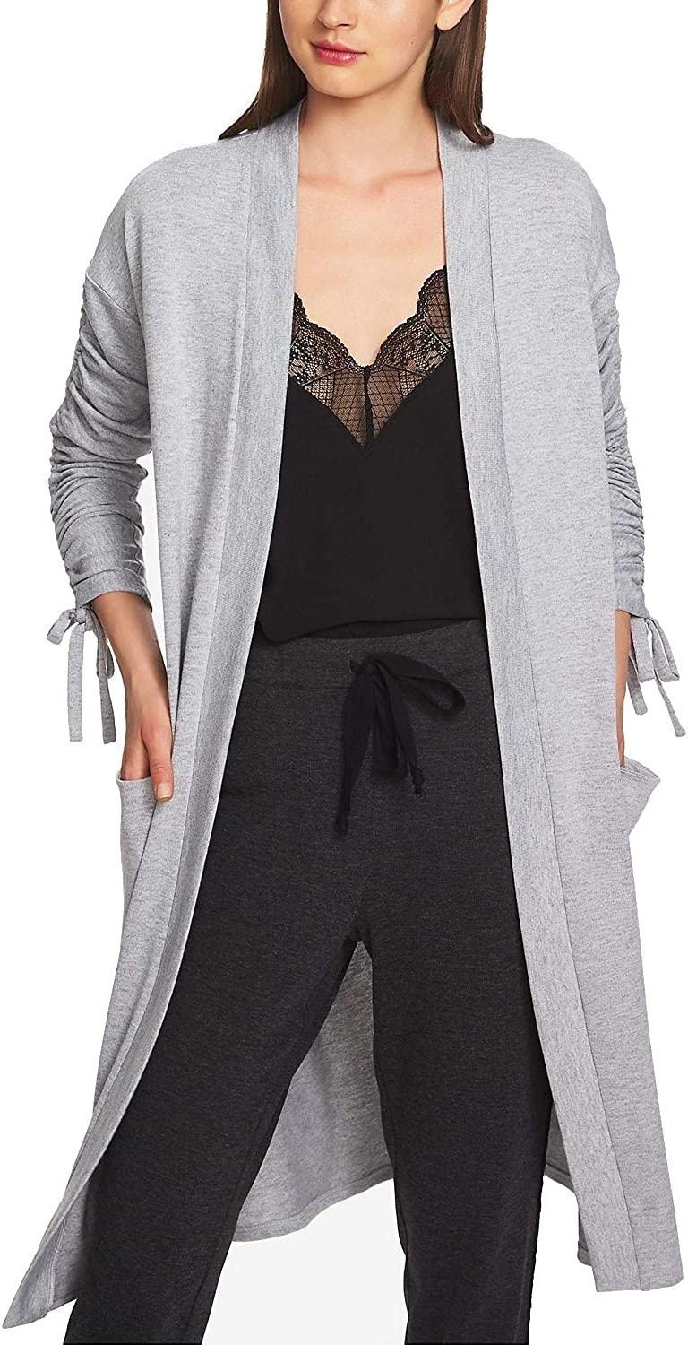 1.STATE Womens Ruched 2021 Sale Special Price Cardigan Sweater