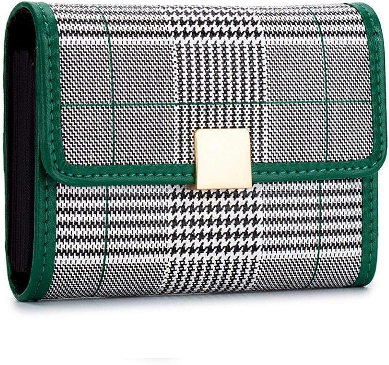 Girls Purse Women's Wallet Lady MultiCard Bag Wallet Business Card Bag Change Bag 10  7.7  2.8cm (color   C)