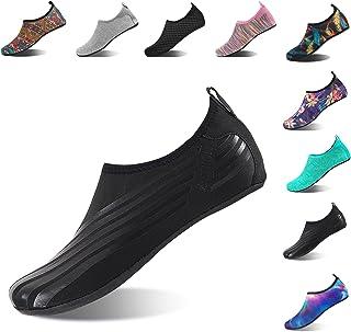 HMIYA Aqua Socks Beach Water Shoes Barefoot Yoga Socks...