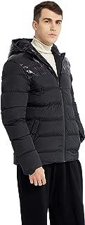 Ternbay Giacca uomo invernale con cappuccio, piumino
