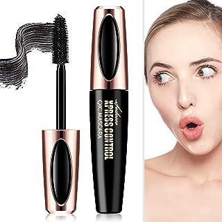 4D Silk Fiber Lash Mascara, Fiber Mascara, 4D Silk Fiber Eyelash Mascara, Best for Thickening & Lengthening,Waterproof,Long-Lasting,Lasting All Day, Waterproof, Smudge Proof Eyelashes mascara