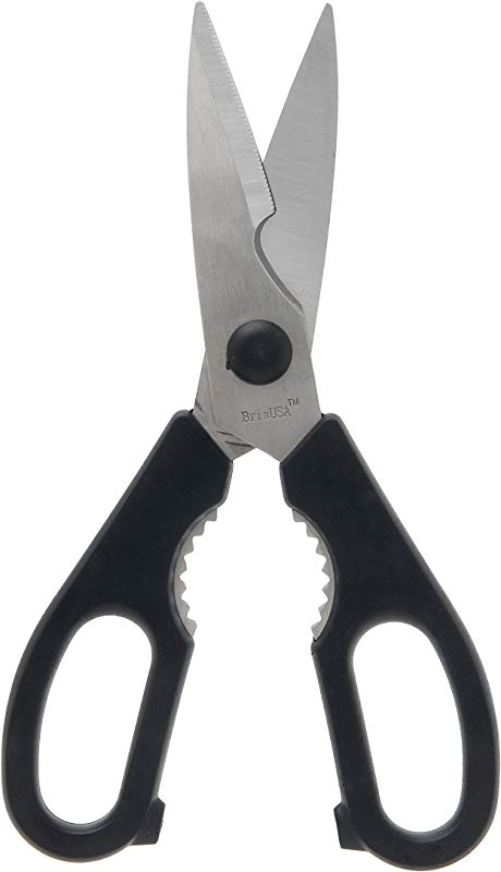 BriaUSA Kitchen Shears Take Apart Heavy Duty Stainless Steel Multi Function Kitchen Scissors