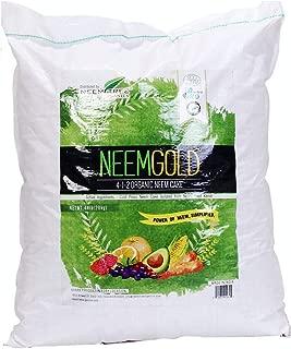 NeemTree Organic Neem Gold (4-1-2 ) 44 Pounds | Organic - Vegan Neem Seed Meal Fertilizer | OMRI approved