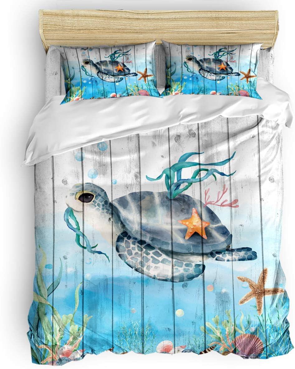 Flouky Duvet Cover 4 Piece Set Closu Comforter with 2021 spring and summer new OFFicial shop Zipper