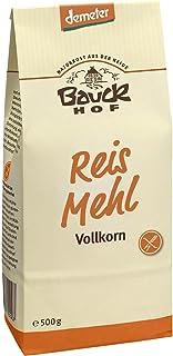 Bauckhof Bio Bauck Reismehl, VK, glutenfrei 6 x 500 gr