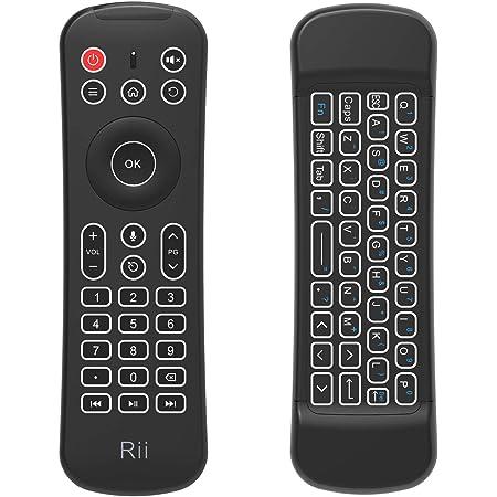 Rii MX6+ Wireless + IR - Control remoto con Gyro Mouse ...