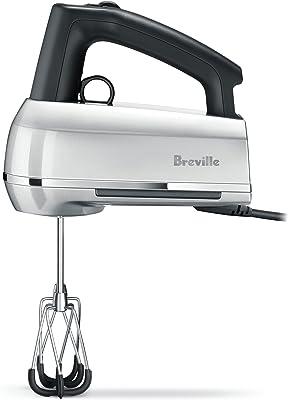 Breville BHM800SIL Handy Mix Scraper Hand Mixer, Silver