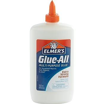 Elmer's E1321 Glue-All Multi-Purpose Liquid Glue, Extra Strong, 16 Ounces, 1 Count