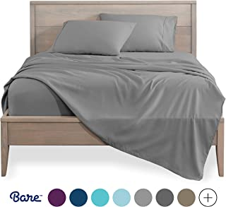 Bare Home Twin XL Sheet Set – College Dorm Size – Premium 1800 Ultra-Soft..