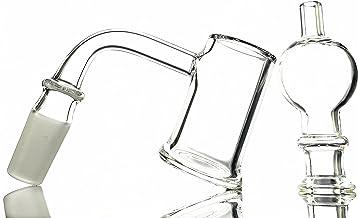 TONGSANG 90/45 Degree 25 mm Wide 3 mm Thick Quartz Glass Set (90Degree 14male)